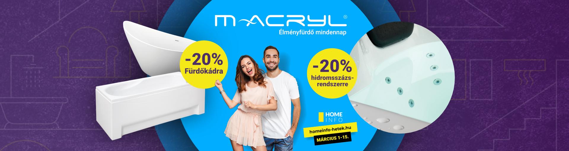 Homeinfo M-acryl