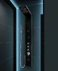 zuhanypanel hidromasszázs zuhanypanel masszázs panel zuhanyszett zuhany szett kézitus esőztető trópusi zuhany zuhanyrózsa Hidromasszázs zuhanypanel - Zuhanypanel - Zuhanyszett - Kézitus, kézizuhany