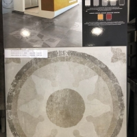 Nyomottmintás 60x60-as dekor padlólap