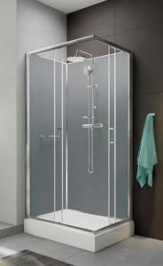 Sanplast klp-KCKN/CLII Zárt téglalap alakú és négyszögletes zuhanykabin szett
