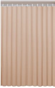 AQUALINE zuhanyfüggöny, 180x180cm, bézs (0201003 BE)