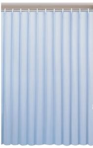 AQUALINE zuhanyfüggöny, 180x180cm, kék (0201003 M)