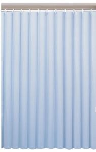 AQUALINE PVC zuhanyfüggöny, 180x200 cm, kék (0201004 M)