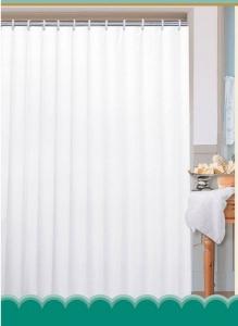 AQUALINE zuhanyfüggöny, 180x180cm, fehér (0201103 B)