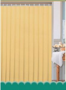 AQUALINE zuhanyfüggöny, 180x180cm, bézs (0201103 BE)