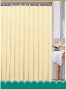 AQUALINE zuhanyfüggöny, 180x200cm, bézs (0201104 BE)