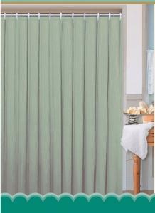 AQUALINE zuhanyfüggöny, 180x200cm, zöld (0201104 Z)