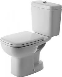 Duravit D-Code álló monoblokkos WC-csésze,mélyöblítésű, alsó kifolyású 1/3