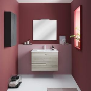 Royo Bannio Vitale fürdőszoba bútor szett, 2 fiókos szekrény, függesztett