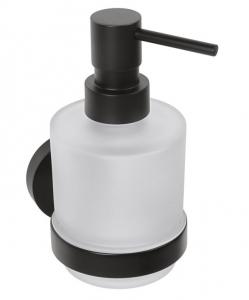 BEMETA DARK Szappanadagoló, MINI üveg, 75x145x100mm, 200ml, fekete (104109100)