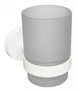 BEMETA WHITE Pohártartó, 70x95x105mm, fehér (104110014)