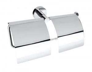 BEMETA OMEGA Dupla WC papírtartó, 270x140x107mm, króm (104112092)