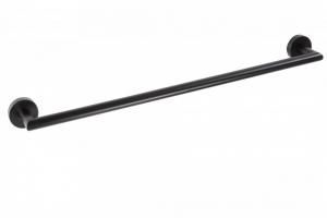 BEMETA DARK Törölközőtartó, 355x55x65mm, fekete (104204010)