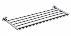 BEMETA OMEGA Törölközőtartó polc, 655x55x215mm, króm (104205082) (XR413)