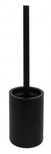 BEMETA DARK Fali WC kefetartó, 90x385x90mm, fekete (104913090)