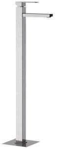 LATUS térbenálló magasított mosdó csaptelep klik-klak lefolyóval, króm (1102-16)