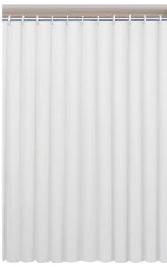 AQUALINE zuhanyfüggöny, 120x200cm, fehér (131111)