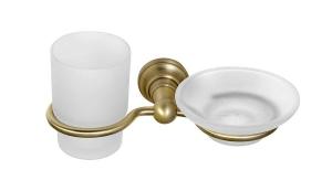 DIAMOND pohár és szappantartó, bronz (1318-04)