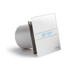 CATA E-100 GTH ventilátor, 4/8W, időzítővel, hygro, o100mm, fehér (00900200)