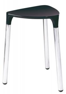 GEDY YANNIS fürdőszobai ülőke, 37x43,5x32,3cm, fekete