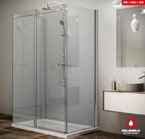 Roltechnik KINEDOOR LINE KID2 + 2KIB falsíkra szerelhető zuhanykabin