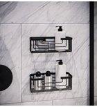 GEDY SMART Polc, 252x86x102mm, fekete (2419-14)