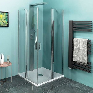 Polysan ZOOM LINE nyíló sarok zuhanykabin