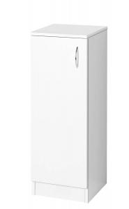 SIMPLEX ECO álsószekrény, 30x86x30cm, matt fehér (SIME340)