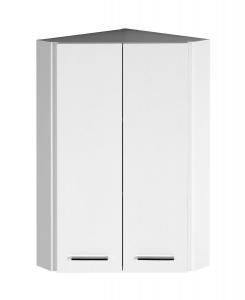 ZOJA/KERAMIA FRESH felső sarokszekrény, 35x76x35cm, fehér (50331)