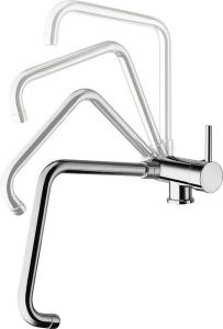 Rhapsody dönthető mosogató csaptelep, króm (5507S)