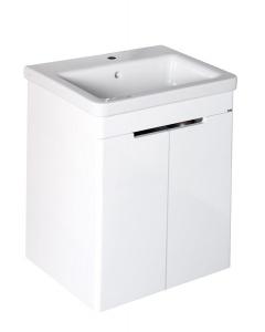Sapho ELLA mosdótartó szekrény 56,5x65x43 cm, fehér (70065)