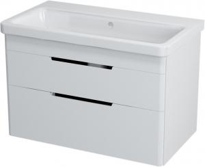 Sapho ELLA mosdótartó szekrény 2 fiókkal, 76x50x43 cm, fehér (70080)