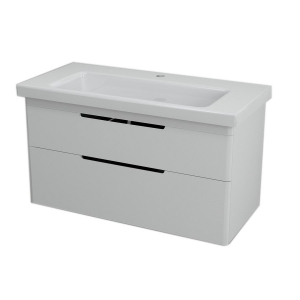 Sapho ELLA mosdótartó szekrény 76,5x50x43cm, fehér (70100)