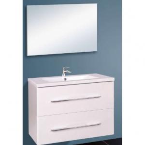 Wellis NINA 80 bútor szett / szekrény+mosdó+tükör /