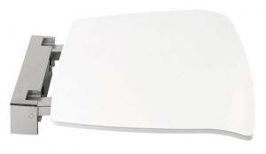 POLYSAN Lehajtható ülőke zuhanyzóba 37x38cm, fehér