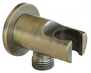 REITANO Kézizuhany tartó vízkivezetéssel, bronz (981M6)