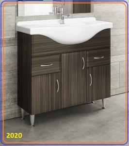 Tboss Classic Bianka Alsó szekrény+mosdótál -55 65 75 85 95 cm