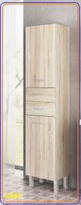 Tboss TREND/TRENTO Álló Zárt 2 fiókos kiegészítő fürdőszoba bútor