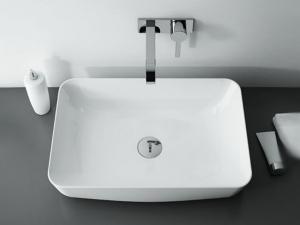 Arezzo NOMIA pultra ültethető mosdó többféle színben 50x39 cm
