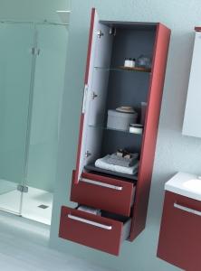 Kolpa-San Adele Magas Kiegészítő szekrény 450x320x1500 mm