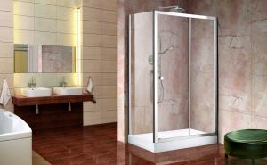 Aquatek Holiday R23 120x80 zuhanykabin átlátszó üveggel