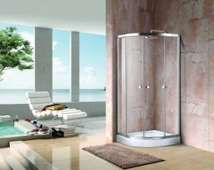 Aquatek Holiday S4 görgős zuhanykabin átlátszó üveggel