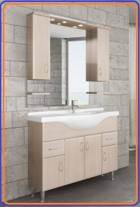 Tboss Bianka Classic 120 komplett fürdőszobabútor