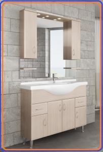 Tboss Bianka Classic 105 fürdőszoba bútor szett