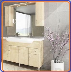 Tboss Bianka Classic 130 komplett fürdőszobabútor