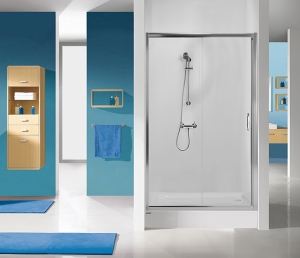 Sanplast D2/TX5b zuhanyajtó (tolóajtós)