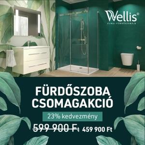 Wellis kedvevezményes fürdőszoba csomag