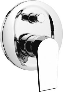 KAI falbaépíthető zuhany csaptelep, 2 irányú, króm (KA42)