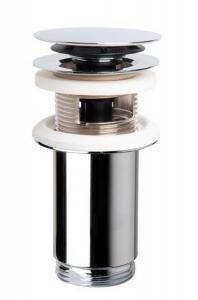 OMP TEA Zárható klik-klak lefolyó univerzális, túlfolyóval és túlfolyó nélkül is,magasság max 80mm (7533.370.5)