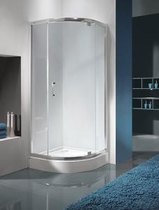 Sanplast KP1DJa/TX5b nyílóajtós zuhanykabin, tálca nélkül.